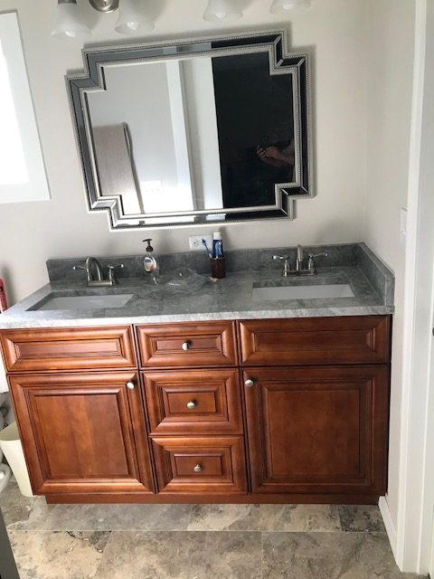 Image of Bathroom Being Remodeled in Citrus Park FL