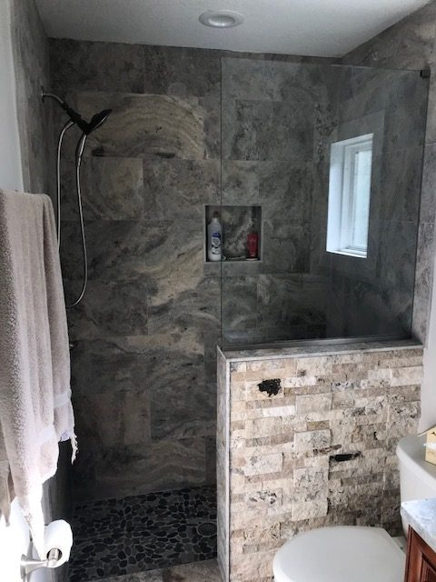Image of a Citrus Park Bathroom Remodeling Job in Tampa