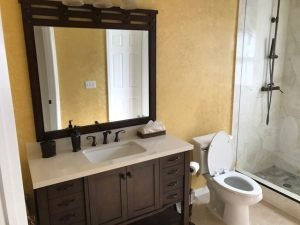 Image of a Bathroom Being Remodeled in Citrus Park off Ehrlich Road