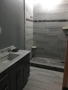 Image of a South Tampa Hyde Park Bathroom Remodeling Job