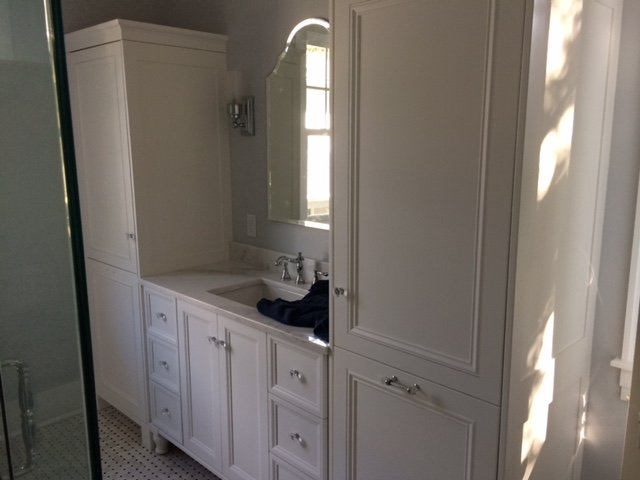 Image of a Bathroom Remodeling Job in Tampa FL on Bayshore Blvd