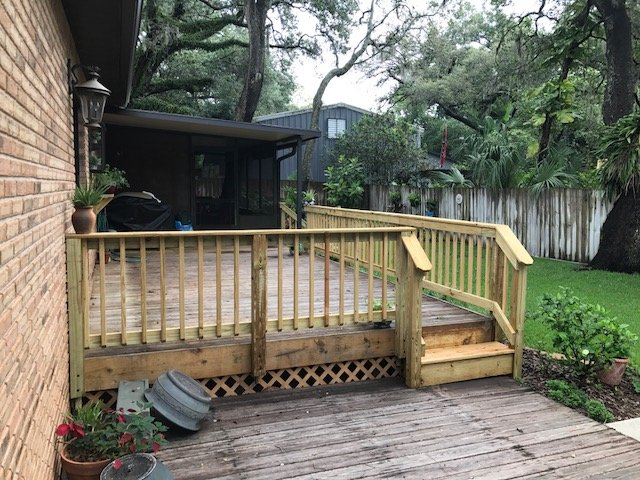 Image of Carrollwood Deck Refinishing Job