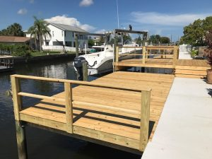 Image of a Deck Refinishing Job in Hudson FL