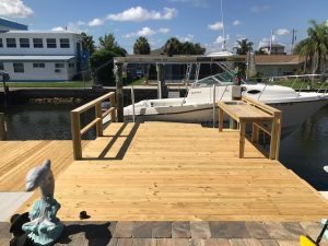 Image of a Deck Refinishing Job in Hudson