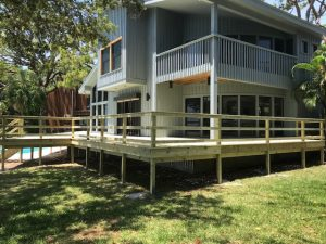Image of a Deck Refinishing Job in St Pete FL