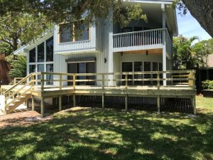 Image of a Deck Refinishing Job in St Pete
