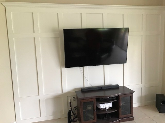 Image of an Entertainment Center Design and Installation Job in Florida
