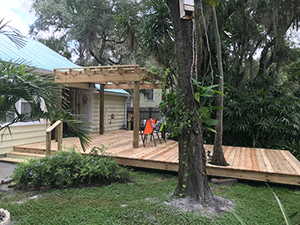 Image of Tampa Deck Designed and Installed by Koster Konstruction