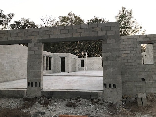 Image of New Home Construction in Pasco FL