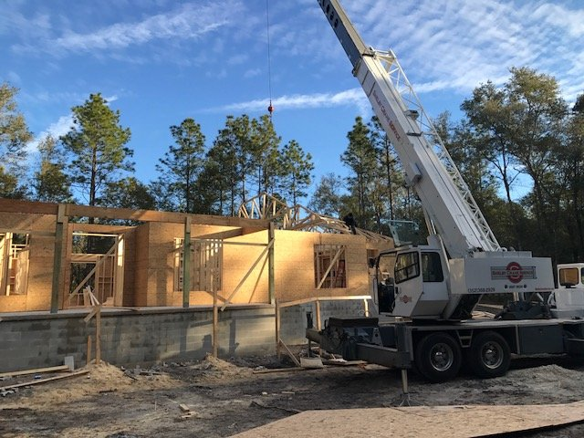 Image of New Home Construction in Dunellon Florida