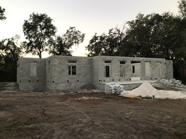 Image of New Home Construction in Pasco County
