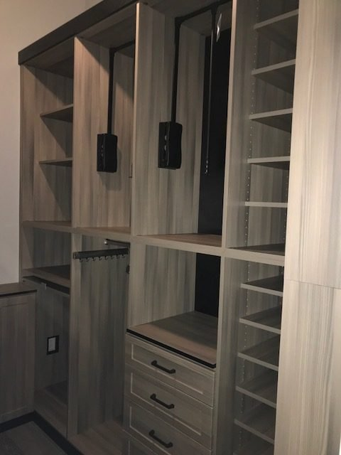 Image of a Custom Closet Design Project in South Tampa