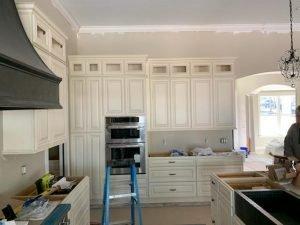 Koster Konstruction in Lutz FL Installing Custom Kitchen Cabinets